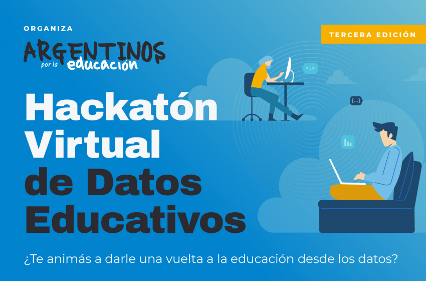 Hackatón virtual de datos educativos