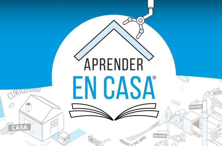 Aprender en Casa: una plataforma gratuita para primaria y secundaria