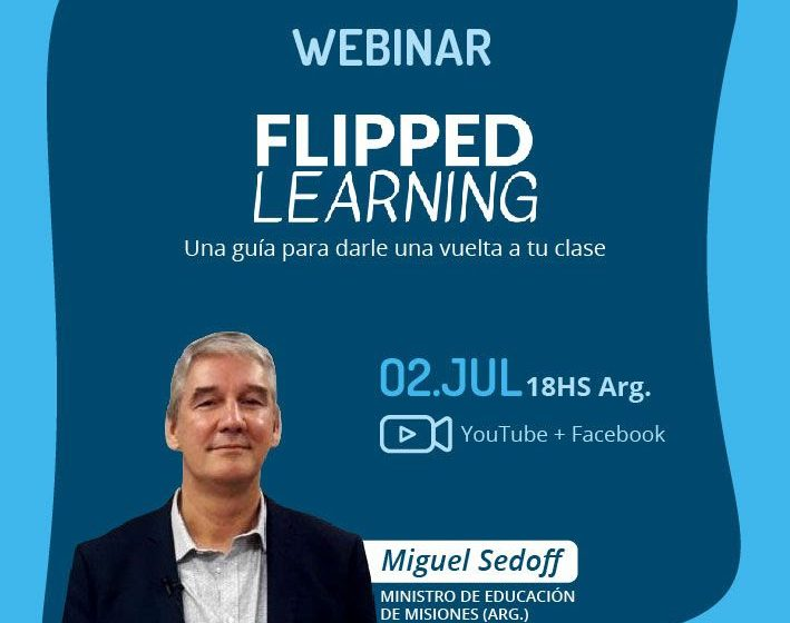 Webinar gratuito sobre flipped learning