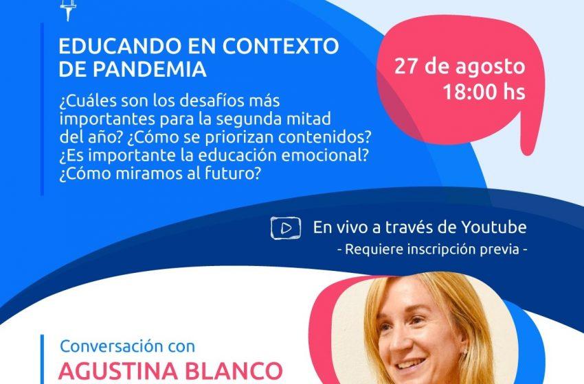 Vivo: Conversación con Agustina Blanco