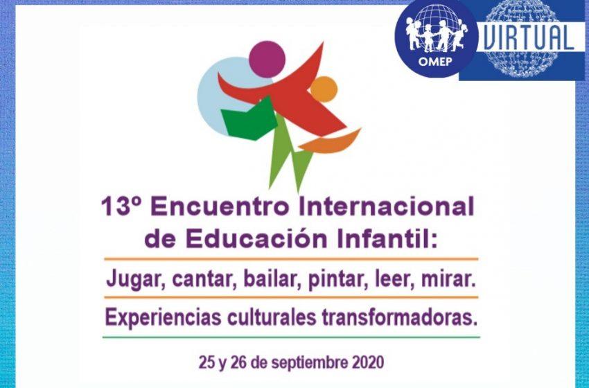 Se viene el 13° Encuentro Internacional de Educación Infantil