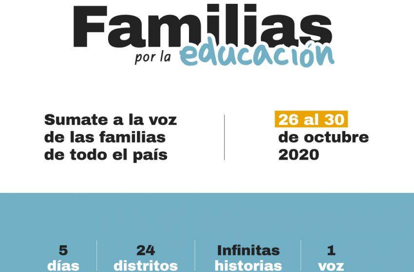 Familias de todo el país se reúnen para impulsar una mejor educación