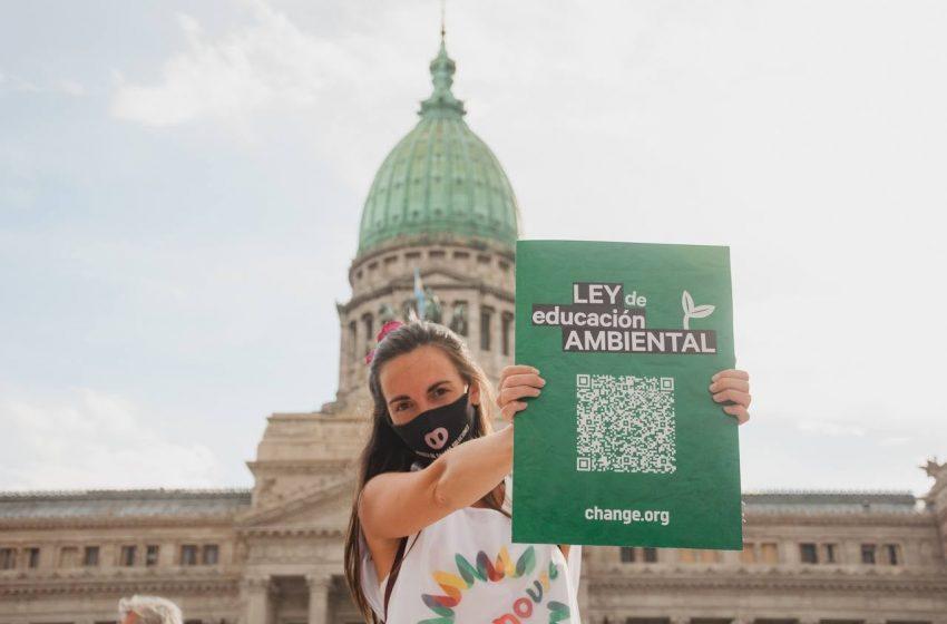 Educación ambiental: Diputados dio media sanción al proyecto de ley