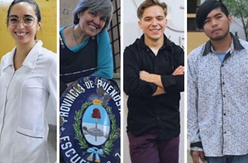 Dos docentes y dos alumnos argentinos, nominados a un premio global