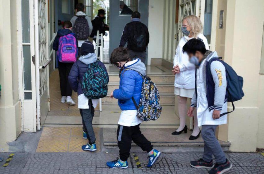 La presencialidad plena, una deuda en la mayoría de las escuelas